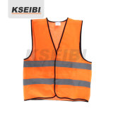 Orange Kseibi High-Visibility Chaleco reflectante