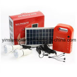 Sistema de energía solar para la iluminación del hogar panel solar