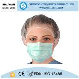 Nichtgewebter Wegwerflatex-freie chirurgische Gesichtsmaske mit Ohr-Schleife