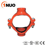 China fábrica de hierro dúctil Cruz mecánica acanalada (FM/UL/CE)