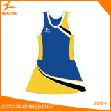 Abiti sportivi su ordinazione uniformi sublimati della Jersey del Netball del vestito dal Netball
