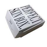 주문 설계되는 물결 모양 상자를 인쇄하는 로고 까만 색깔