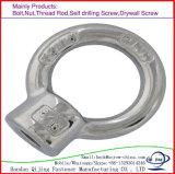 Noix/boulon d'oeil de zinc d'acier du carbone de qualité fabriqué en Chine