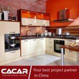 Gabinete de cocina del panel de cristal del estilo moderno de la pasión del verano (CA09-19)