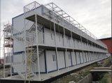 Fertigstahlbehälter-temporärer Schutz-Haus-Aufbau