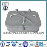 Piccolo coperchio d'acciaio a tenuta d'acqua marino del portello con il certificato