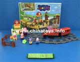 おかしいおもちゃの柔らかいプラスチックブタの観覧車(926236)