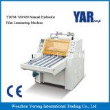 Máquina de estratificação fria hidráulica manual para que a folha de papel role