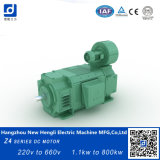 Pincel de carbono 50kw 200V 1500rpm DC Motor