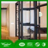 Bi-Fold Glasaluminiumtür/faltendes Fenster
