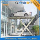 3.5m stationärer Hydrulic Vertiefung-Auto-Aufzug für Verkauf