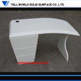 Стол офиса конструкции специального лоска конструкции белого самый последний
