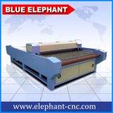 Máquina de estaca automática do laser do CNC do CO2 barato, máquina de estaca do laser da tela para a venda