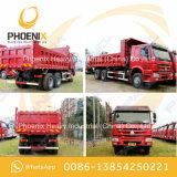 Gebruikte Vrachtwagen van de Stortplaats van de Kipper van Sinotruk HOWO 10 Wielen 6X4 met Goede Voorwaarde voor Afrika