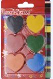 Сердце влюбленности сформировало Crayon установленный для детей рисуя /Painting