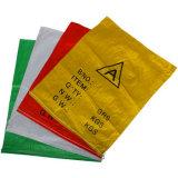Qualität färbte die gedruckte pp. gesponnene Säcke/Beutel verwendet für Kleber/Düngemittel/Mehl/Futter, usw.