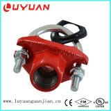 Te mecánica de la instalación de tuberías del bastidor del hierro de Dutile con el tornillo de U