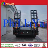Remorque inférieure de grue de transport de bâti de quatre essieux