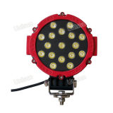 12V 6inch 51watts carro LED luz de condução no local