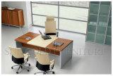 新しい設計事務所表のModenの木のレセプションのコンピュータの机(SZ-OD210)