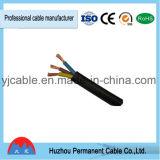 Estándar trenzado cable del IEC del alambre de cobre de la corriente eléctrica de Rvv/H05VV-F