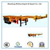 Heißes Saling 12.5m Skeleton Chassis für 20/40FT Behälter-Transport
