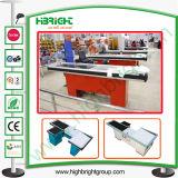 Hypermarché automatique des compteurs et les compteurs de trésorerie Checkout