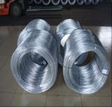 16gauge 25kg Galvanized Spiral Coil Steel Wire / Gi Binding Wire