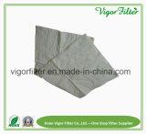 Media de filtro Pocket de bolso del material de la fibra sintetizada