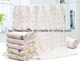 coperta del bambino della grinza stampata cotone 6layers