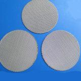 40 de malla de acero inoxidable 304 ligamento tafetán de alambre de malla de tela Fitler discos