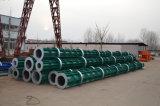 Molde de aço giratório de concreto pré-tensionado com concreto