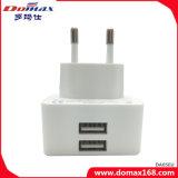 이동 전화 부속품 EU는 2 USB 여행 벽 충전기를 폐쇄한다