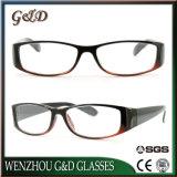 Novo Design PC populares óculos de leitura da estrutura óptica