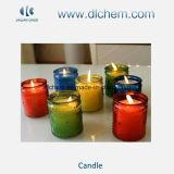 Bougies en verre colorées de gelée de choc avec la qualité grande