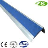 Anti-escorregadio Ceramic Tile Stair Nosing com borracha Inserir