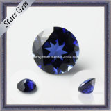Низкая цена созданная лаборатория драгоценных камней Синий сапфир