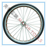 14/14/16 Inch Semi-Pneumatic Rubber Bicycle Wheels