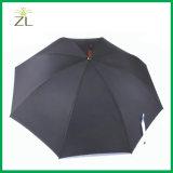 Di marchio di stampa di modo ombrello di legno aperto automatico della maniglia lungamente diritto con l'alta qualità