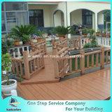 Quarto de bambu pesado tecido 24 da casa de campo do revestimento do Decking costa ao ar livre de bambu