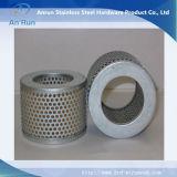 Galvanizado y malla metálica perforada