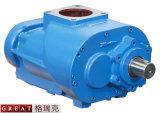 ねじ空気圧縮機2の回転子の空気端ポンプ
