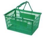 Panier de magasinage en plastique de type divers