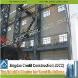 Edifício claro Multi-Storey da construção de aço da oficina da fábrica do baixo custo