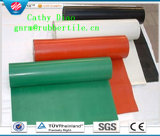 Крен Shee природного каучука, нервюра резиновый кислотоупорный Rolls, Анти--Истирательный резиновый лист