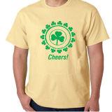 T-shirt de impressão personalizada por atacado promocional