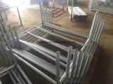 Stahl galvanisierte Pfosten-Ladeplatte