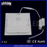 9W 세륨 Approved Square LED Panel Light