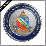 Настроить военных сувенирные монеты с серебристым покрытием (BYH-10853)