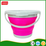 Hoge Flexibility Outdoor Application 5L en 10L pp Material Collapsible Bucket